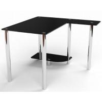Стеклянный компьютерный стол Протей