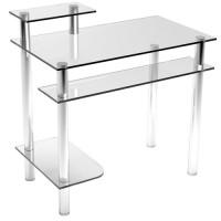 Стеклянный компьютерный стол Р4