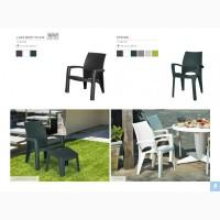 Стільці для будинку, тераси, кафе і бару Allibert Голландія