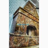 Столешницы, камины из Мрамора Рейнфорест Грин Екстра/Rainforest Green Extra толщина 30мм