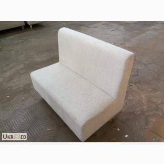 Продажа диванов бу серебристых тканевых для кафе