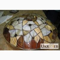 Изготовление витражных абажуров, компания ALKION