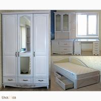 Гарнитур Лорд 1 для детской комнаты из массива ясеня