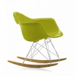 Кресла-качалки Тауэр R пластиковые на деревянных полозьях для дома