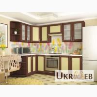 Кухня Квадро (орех/ваниль)