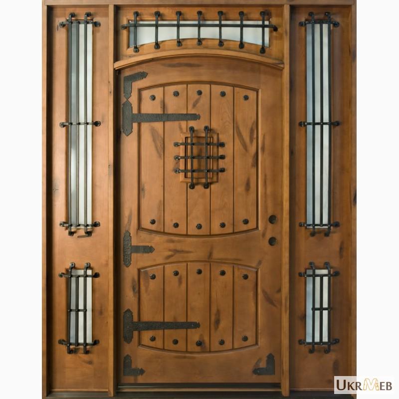 Входные двери в частный дом своими руками