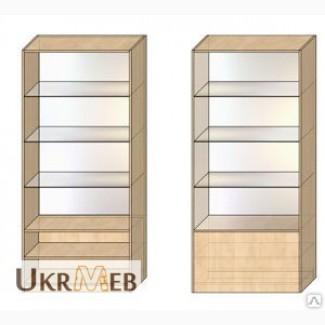 Витрина-шкаф, торговая, изготовление на заказ, быстро, качественно, недорого