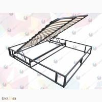 Ортопедический каркас кровати с подъемным механизмом (фиксатор) и металлическим основанием