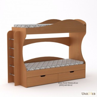 Детская двухъярусная кровать БРИЗ