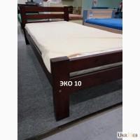Односпальная кровать ЭКО 10 из массива дерева. По цене производителя. Распродажа
