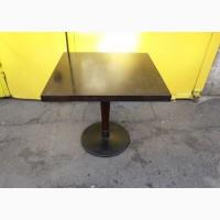 Б.у столы 80х80 на чугунной ноге для кафе бара ресторана, мебель бу