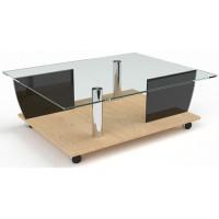 Стеклянный журнальный стол Антарес