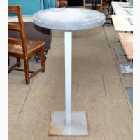 Продам стол барный б/у серого цвета