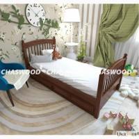 Подростковая кровать Тэсса из натурального дерева