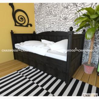 Детская кроватка Билог из натурального дерева