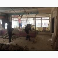 Демонтажные работы под ключ в Киеве