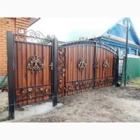 Изготовление и установка металлических дверей, решеток, навесов, заборов, ворот и других