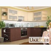 Кухня Квадро-1 (орех-клен)