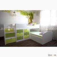 Кровать Умка из натурального дерева