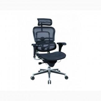 Компьютерное Эргономичное Кресло ERGOHUMAN в черном цвете