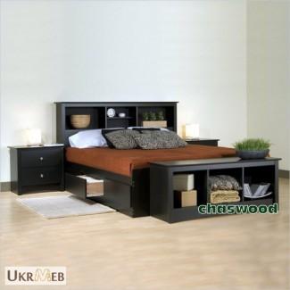 Двуспальная кровать Марко из дерева