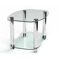 Стеклянный журнальный стол Николас