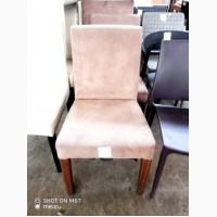 Продам стулья б/у велюр светло-коричневого цвета