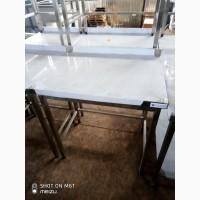Стол промышленный борт без полки изготовлен из нержавеющей стали ( AISI 201)