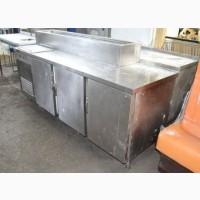 Стол холодильный с витриной для ингредиентов б/у