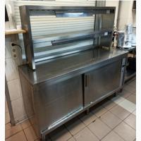 Стол тепловой б/у для подогрева посуды ZANUSSI TC2001