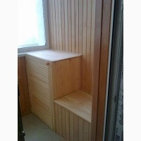 Шкаф на балкон (ящик сидушка)