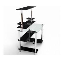 Стеклянный компьютерный стол Элара
