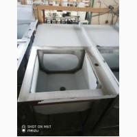 Стол-мойка из нержавеющей стали (AISI 201)