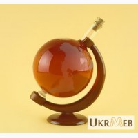 Оригинальный подарок - Глобус(ручная работа из стекла)