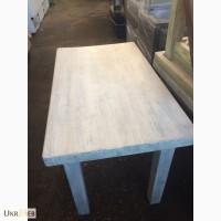 Столы деревянные цвета серая патина для кафе