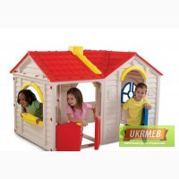 Детский домик из пластика купить,игровой домик для детей