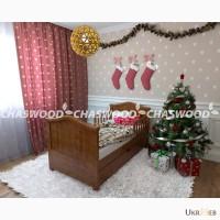 Детская кровать Малятко из натурального дерева