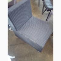 Кресло б/у из искуственного ротанга для кафе, бара, ресторана