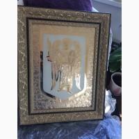 Икона Картина Фреска в Позолоте. Подарок Царский