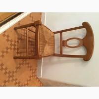 Итальянский Обеденный стол и мягкие стулья :8 шт Б/У в отличном состоянии