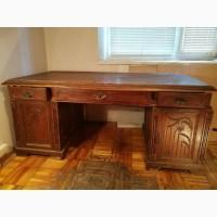 Старинный антикварный письменный стол