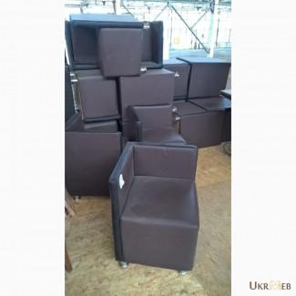 Пуф кресло кожзам коричневый б/у для ресторана кафе кофейни бара офиса дома дачи