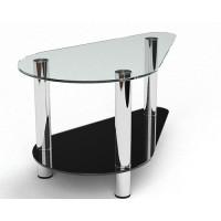 Стеклянный журнальный стол Донас
