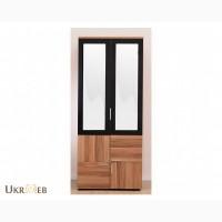 Альберо 2-дверний (з маленькою дверкою) Шкаф