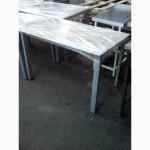 Продам столы со стеклянной столешницей бу
