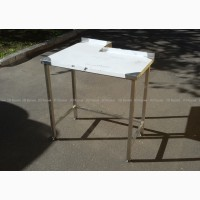 Стол разделочный г-образный из нержавейки, стол производственный из нержавеющей стали