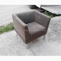 Кресла б/у в кафе ресторан, серые кресла, мягкая мебель бу для бара
