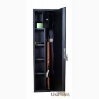 Оружейный сейф 1370 мм высотой на 3 ружья