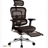 Кресло компьютерное ERGOHUMAN PLUS c подставкой для ног