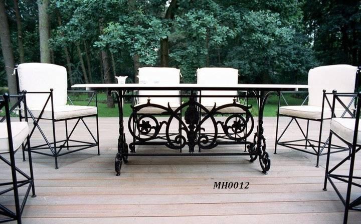 Фото 4. Садовая кованая мебель